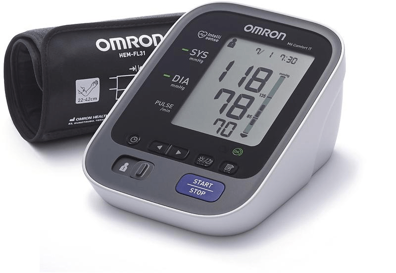 Omron M6 Comfort Blodtrycksmätare