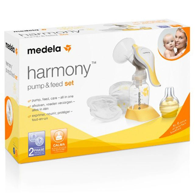 Medela Harmony Pump & Feed Set Manuell Bröstpump