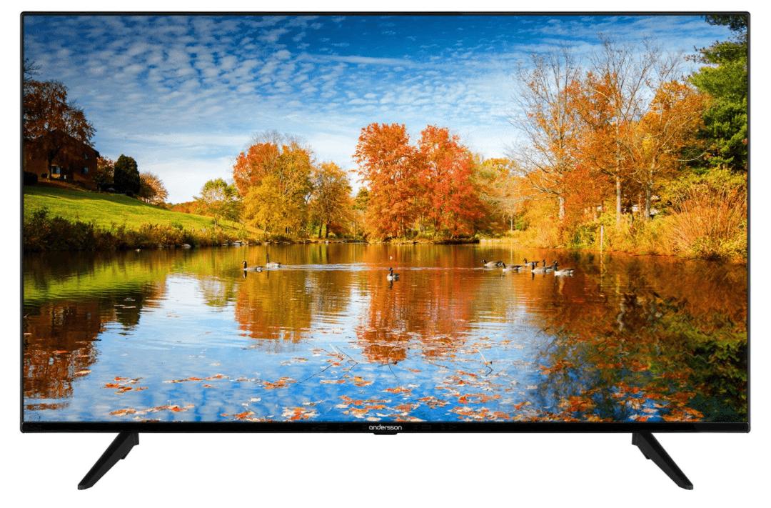 Budgetklassen: Andersson LED6545UHDA Smart TV
