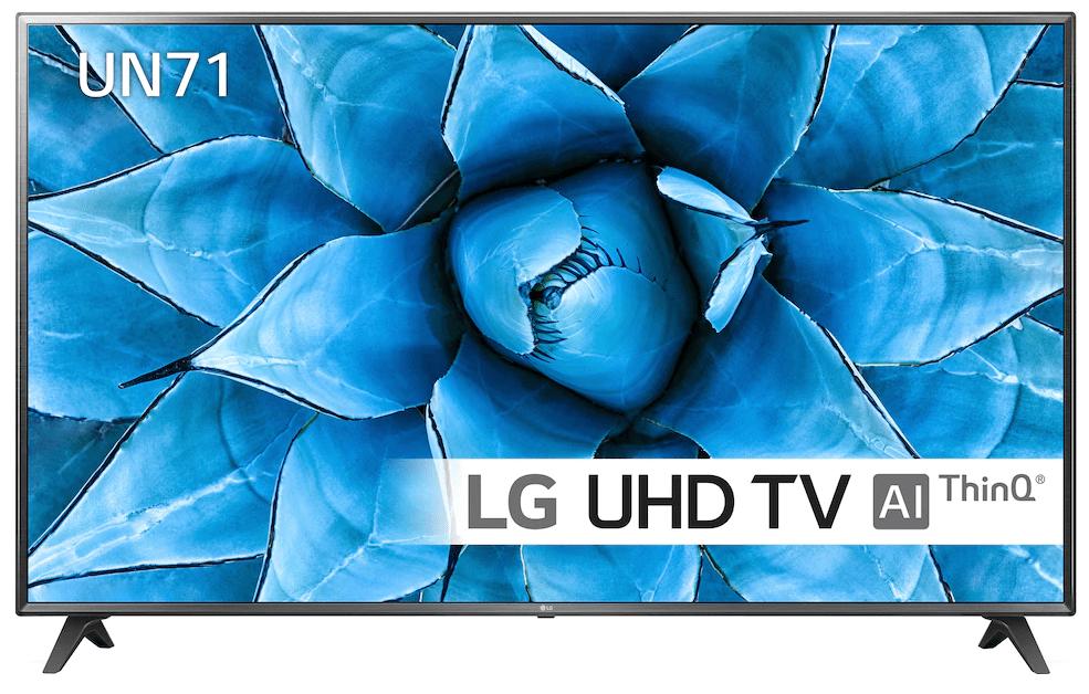 "Budgetklassen: LG 75"" UN71 Smart TV"